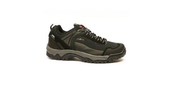 Pánské černé trekové boty Numero Uno