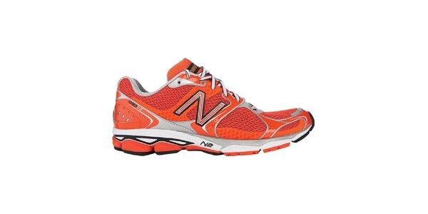 Pánské červené běžecké boty New Balance