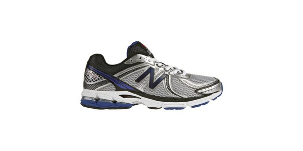 Pánské stříbrno-fialové tréninkové boty New Balance