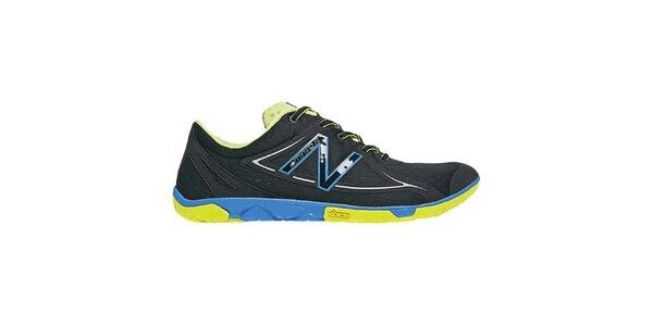 Pánské černo-modro-žluté běžecké boty New Balance