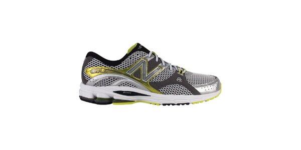 Pánské žluto-stříbrné běžecké boty New Balance