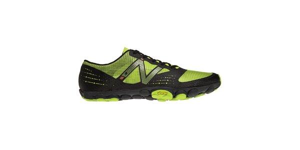 Pánské černo-zelené běžecké boty New Balance