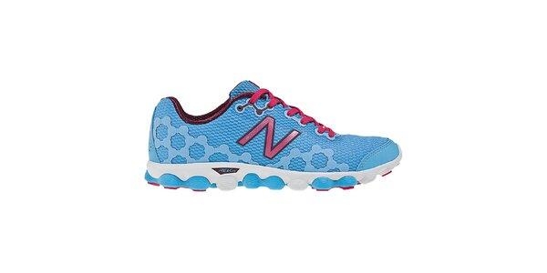 Dámské modro-růžové běžecké boty New Balance