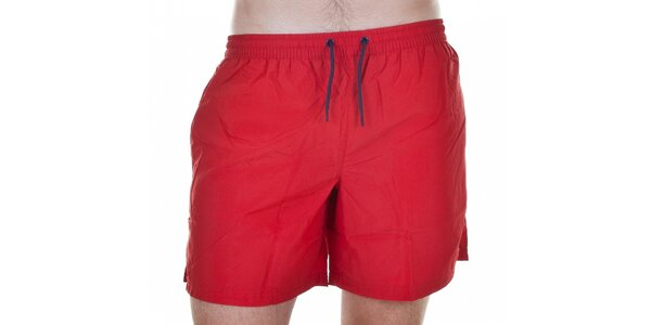 Pánské krátké červené koupací šortky Emporio Armani