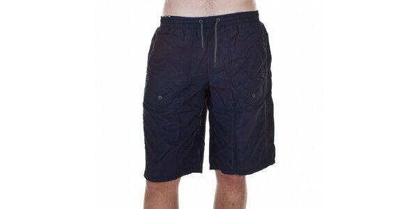 Pánské černé koupací šortky Emporio Armani