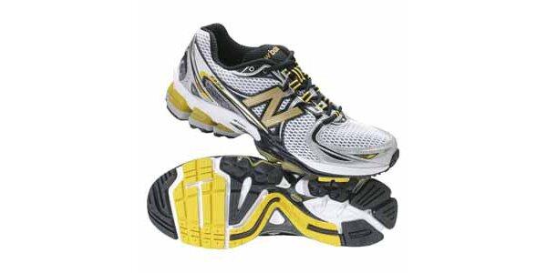Pánské žluto-bílo-černé běžecké boty New Balance