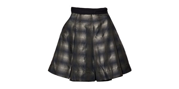 Dámská černobílá kolová sukně Miss Sixty