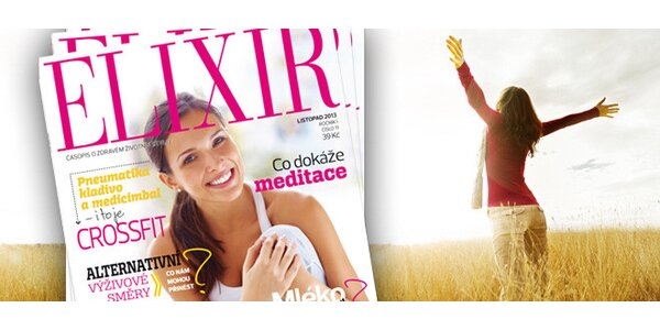 Roční předplatné nového časopisu ELIXIR