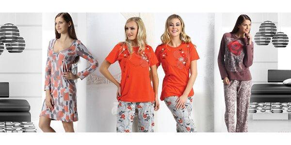 Dámská pyžama i noční košilky Moyra