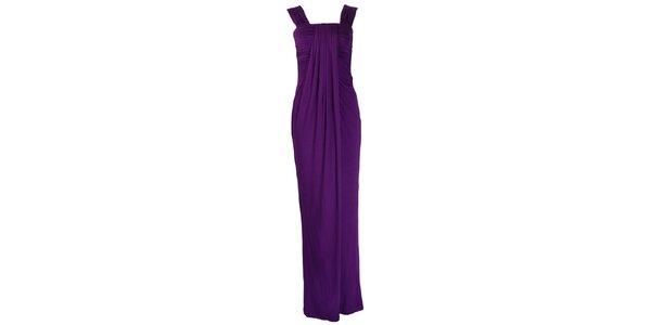Dámské fialové plesové šaty CeMe London