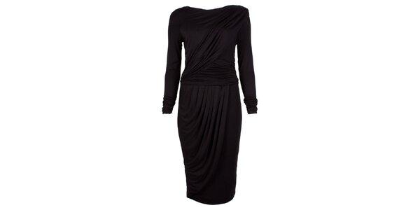 Dámské černé šaty s dlouhými rukávy CeMe London