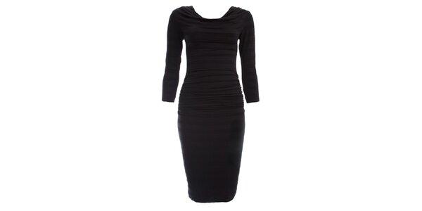 Dámské černé šaty se sklady CeMe London