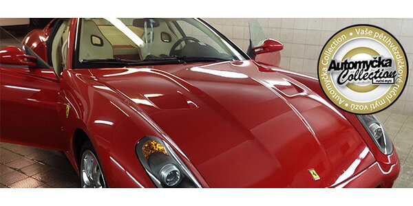 Ruční mytí auta a mycí programy na míru vašemu vozu