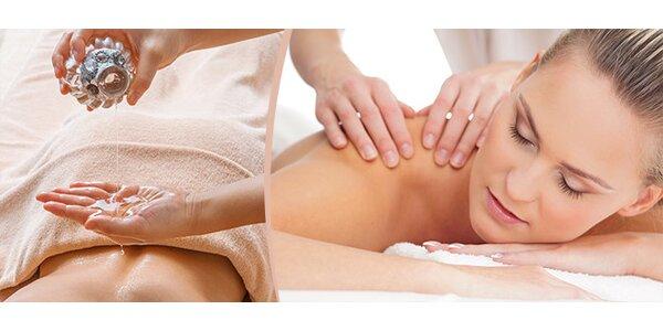 Klasická aroma masáž (šíje, záda, hýždě, nohy)