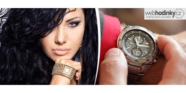 Tlaková zkouška vodotěsnosti hodinek včetně výměny baterie v centru Prahy