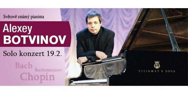 Vstupenky na klavírní koncert Alexeje Botvinova v Rudolfinu