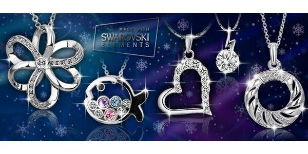 Výprodej: šperky Swarovski Elements