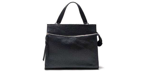 Dámská černá kabelka s horizontálním zipem Isabella Rhea
