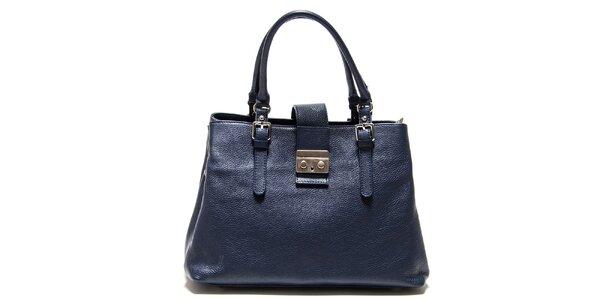 Dámská tmavě modrá kabelka se zámečkem Isabella Rhea