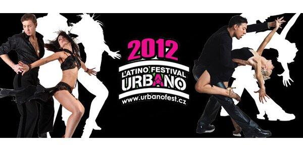 Vstupenky na Latino Urbano festival