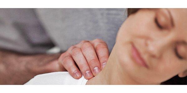 Uvolňující masáž zad a šíje, ramenního pletence a bederní páteře