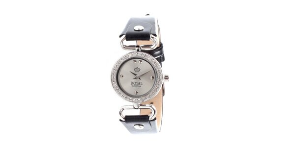 Dámské náramkové hodinky Royal London s kamínky