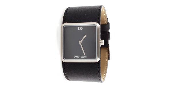 Unisex náramkové hodinky Danish Design černé