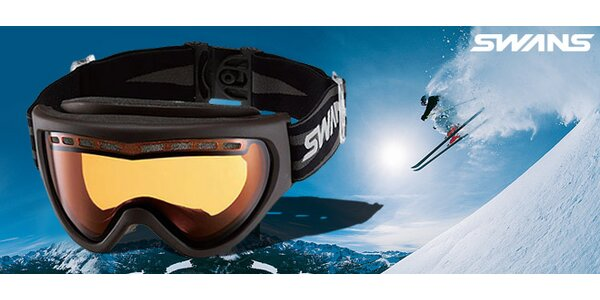 Kvalitní lyžařské brýle Swans