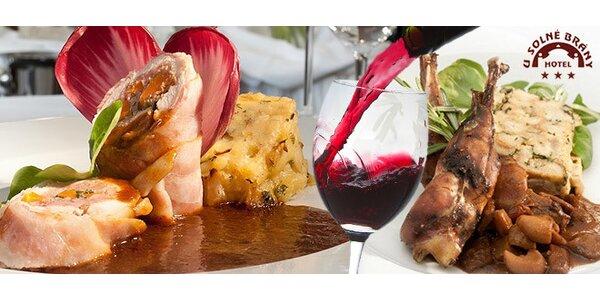 Luxusní 6chodové degustační menu pro dva