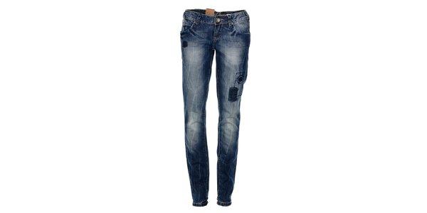 Dámské tmavě modré džíny Timeout