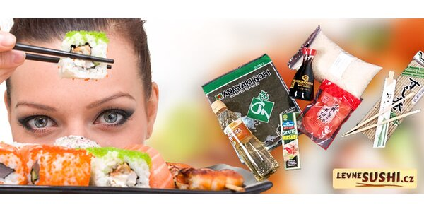 Startovací sushi set pro snadnou přípravu doma