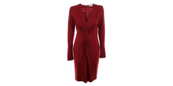 Dámské červené šaty Max Mara