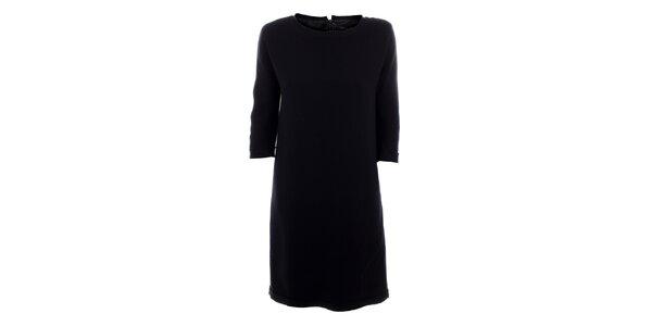 Dámské černé vlněné šaty Max Mara