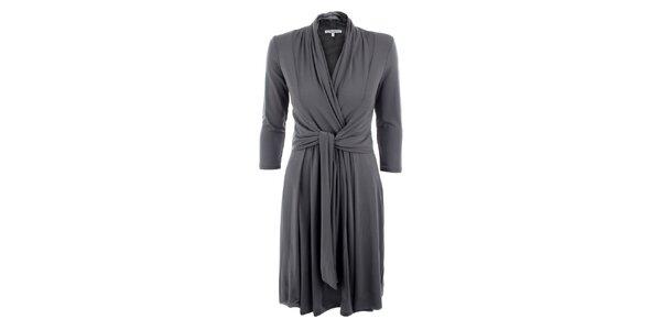 Dámské šedé šaty Max Mara