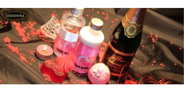299 Kč za Valentýnský balíček plný romantiky v hodnotě 599 Kč. Sleva 50 %.