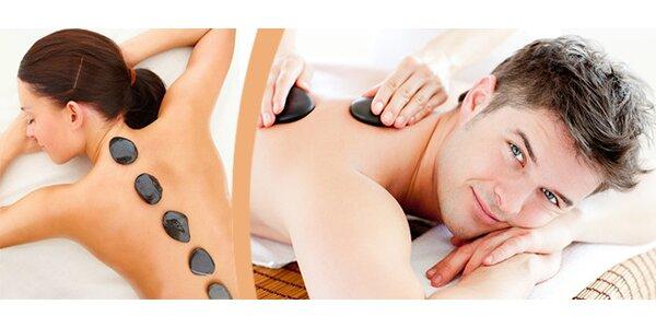 Celková masáž lávovými kameny v délce 90 minut