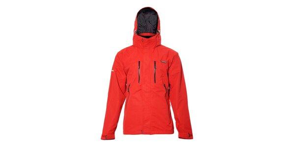 Univerzální outdoor bunda Envy v sytě červené barvě
