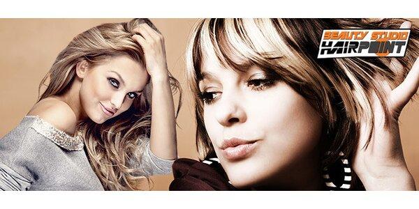 Exkluzivní kadeřnická proměna v salonu Hairpoint (3 hod.)