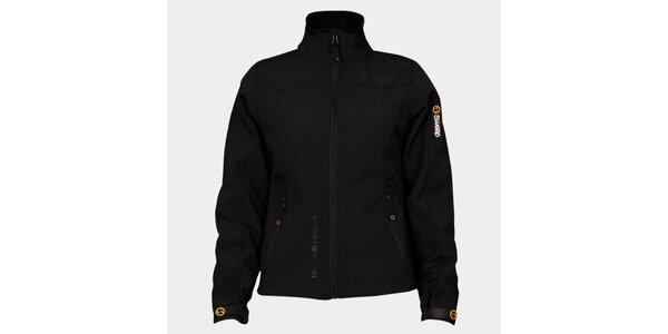 Dámská černá softshellová bunda Sweep