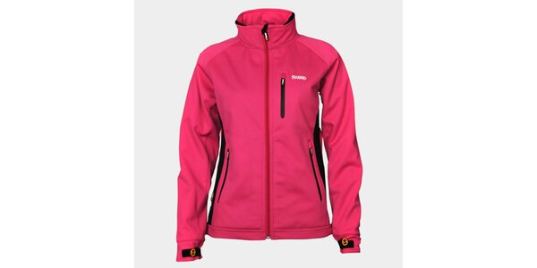Dámská růžová softshellová bunda Sweep