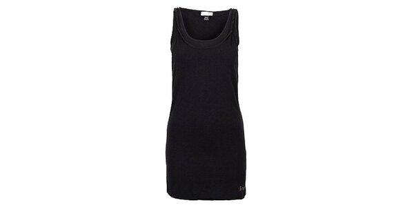 Dámské černé šaty bez rukávů Bench