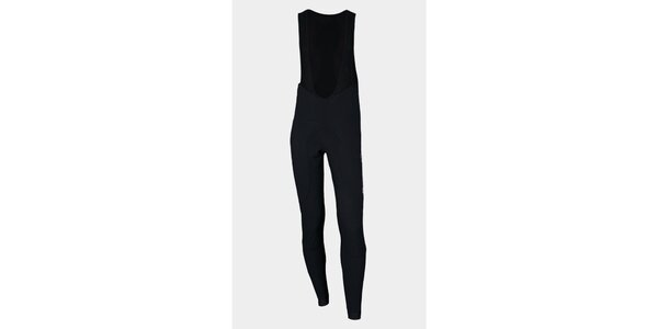 Černé zateplené cyklistické kalhoty Sweep s membránou NoWind