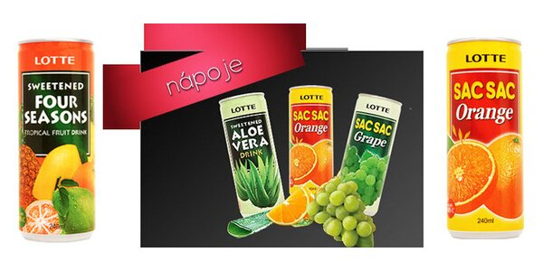 Lotte nápoje mix 30 ks dle vlastního výběru