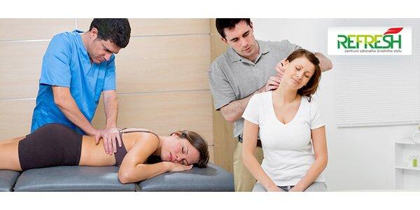 Rehabilitační cvičení SM systém (5x 1 h) s diagnostikou