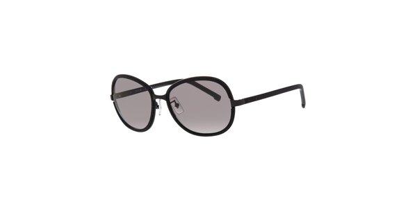 Černé dámské sluneční brýle Lacoste