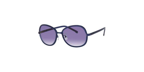 Modré dámské sluneční brýle Lacoste