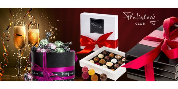 Luxusní pralinky a čokoláda z Pralinkového CLUBU