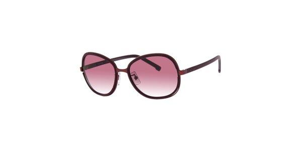 Fialové dámské sluneční brýle Lacoste