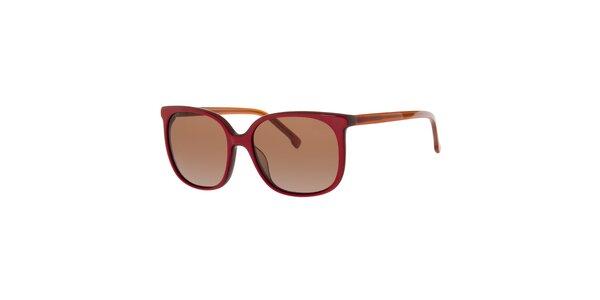 Dámské červené sluneční brýle Lacoste