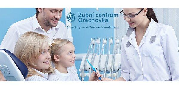 Dentální hygiena včetně Air Flow v Zubním centru Ořechovka
